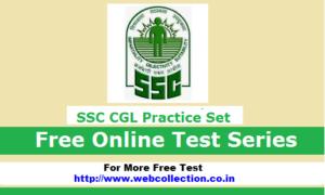 ssc-cgl-Online free practice-set